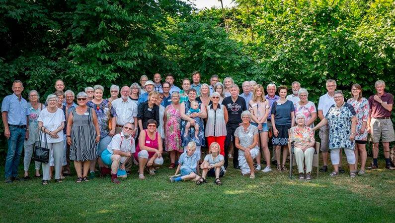 Slægtstræf 2018 på Restaurant Ålekroen. Adslev Slægten